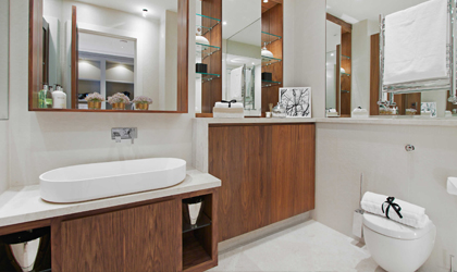 Bespoke Bathroom storage London