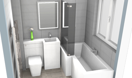 Bath and Shower Room Designers in Folkestone Kent