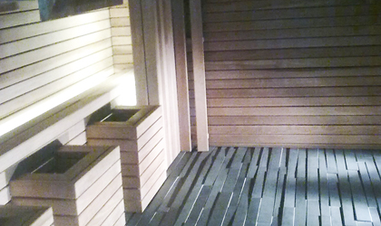 Bespoke Sauna and wet rooms in Folkestone Kent