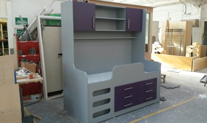 Bespoke Storage Bed