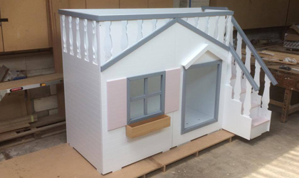 Bespoke Cottage Playhouse Bed