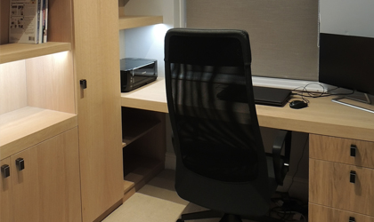 Made to measure home office