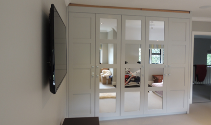 Bespoke wardrobes in Folkestone, Kent London