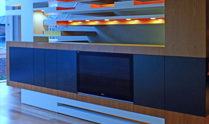 Bespoke Living Room Furniture and Media Units